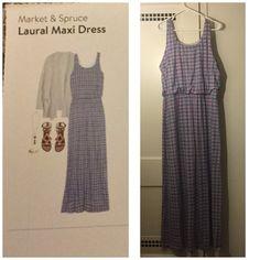 Stitch Fix Review: MARKET & SPRUCE Laural Maxi Dress
