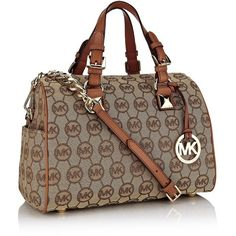 MICHAEL Michael Kors Grayson Bowler Bag ($390) ❤ liked on Polyvore,CHEAP DISCOUNT MICHAEL KORS BAGS ON SALE,cheap michael kors bags upcoming $44.99