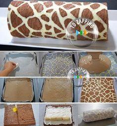 Cómo Hacer Brazo de gitano jirafa. ¡Prepara una delicioso¡ brazo de gitano jirafa.Un montón de gente piensa pasteles creativos como…