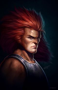ThunderCats - Lion-O by Nick Deligaris