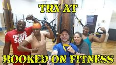 #TRX at #HookedOnFitness... Chest back triceps biceps quads glutes deltoid and of course core! These folks took suspension training to a whole new level. Varying your workouts is the only way to see positive overall results. Break out of the black and white world and do your body right. Come on up and find out why we were voted as the #BEST #GroupFitness Studio in #Philly.  #GroupFitness #PhillyPersonalTrainer #FitFam #BestInPhilly #BestInPhillyJustGotBetter  http://ift.tt/1Ld5awW Another…