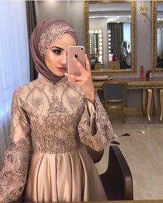 Muslimah Wedding Dress, Muslim Wedding Dresses, Wedding Hijab, Short Bridesmaid Dresses, Hijab Evening Dress, Hijab Dress Party, Evening Dresses, Muslim Fashion, Hijab Fashion