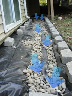 FAZIO WATERPROOFING Drainage and waterproofing solutions in Albany & Schenectady NY. We fix water drainage problems that cause a wet leaky basement and leaking foundation walls. Contact us for installation and repair of drainage systems. Backyard Drainage, Landscape Drainage, Backyard Landscaping, Sump Pump Drainage, Rainwater Drainage, French Drain Installation, Drainage Installation, Backyard Projects, Outdoor Projects