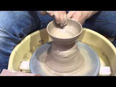 4 電動ろくろ-茶碗の作り方 - YouTube
