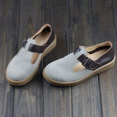==> [Free Shipping] Buy Best Japanese School Girl Shoes Brand Designer Flats Mori Girl Slip On Loafer Genuine Leather Shoes Free Style(h256) Online with LOWEST Price | 32373946879