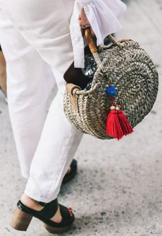 Hasır Çanta Trendi | Wicker/Bamboo Bag #2017 #trends #fashion #bag #çanta #summertrends #yaztrendleri