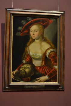 Salome with the Head of John the Baptist, Josef Heintz d. John The Baptist, Female Portrait, Mona Lisa, Museum, Portraits, Artwork, Painting, Women, Work Of Art