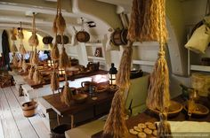 On Board The Ship Pinterest Hms Victory James Cook