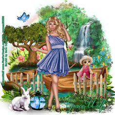 Carmen designs: Spring Girl