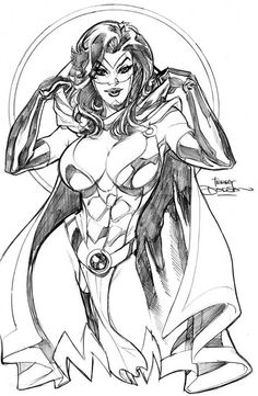 Mantra by Terry Dodson
