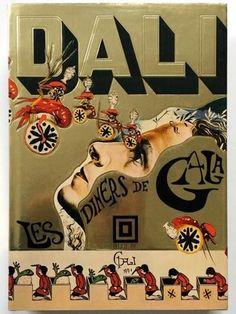 Salvador Dali's erotic cookbook