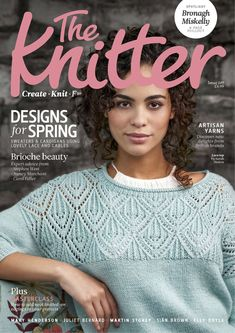 The Knitter caters for skilled knitters with more than 10 challenging patterns in each issue. The Knitter has beautiful, original patterns and inspiration from world-class designers. Our patterns aren't just fabulous to look at, they're enjoyable to make, with a few unusual techniques and intriguing ways with yarns for you to try. Knitting Designs, Knitting Patterns, Knitting Books, Knitting Magazine, Lace Cardigan, Vintage Stil, Pli, Couture, Lace Tops