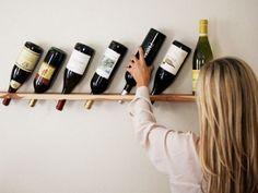 15 Easy DIY Wine Racks to Make ...