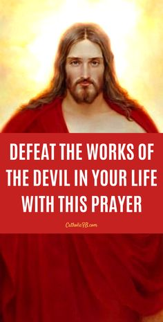 Defeat the Work of Satan in Your Life with this Powerful Prayer - Best Pins Live Jesus Prayer, Prayer Scriptures, Prayer Quotes, Faith Quotes, Evening Prayer, Night Prayer, Prayer Times, Prayers For Strength, Prayers For Healing