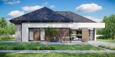 DOM.PL™ - Projekt domu CPT HomeKONCEPT-31 CE - DOM CP1-34 - gotowy koszt budowy Villa Design, Modern House Design, Home Building Design, Building A House, Bungalow Style House, House Construction Plan, Clinic Design, Facade House, House Plans