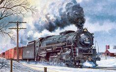 #1433398, Beautiful train image
