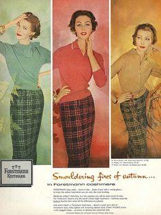 September Vogue 1957 #Autumn #socialmedia #marketing
