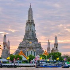 Bangkok,Thailand - I rode elephents, visited golden temples and monks, sailed on one of their boats and experienced craziness