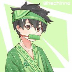 Thorn is cute like Nezuko-chan~! Boboiboy Anime, Anime Kiss, Anime Chibi, Anime Comics, Anime Galaxy, Boboiboy Galaxy, Naruto Akatsuki Funny, Elemental Powers, Pokemon Gijinka