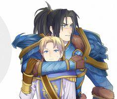 Varian and his son by Pagodon.deviantart.com on @deviantART