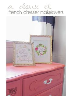 DIY French Dresser m