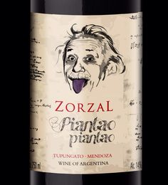 #Einstein Wine Label #taninotanino #vinosmaximum