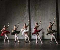 Beautiful ballerinas in beautiful poses