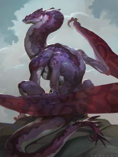 ArtStation - DRAGONS! - Sky Viper, Alex Konstad