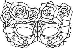 Trendy embroidery designs by hand inspiration transfer paper 69 Ideas Colouring Pages, Adult Coloring Pages, Coloring Sheets, Coloring Books, Hand Embroidery Designs, Embroidery Patterns, Skeleton Face Paint, Stencil Decor, Urban Threads