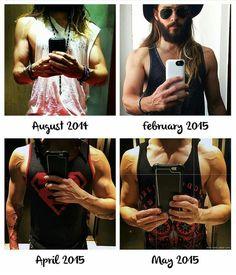 Jared leto workout