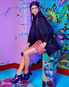 Emilia Nawarecka for Elle Poland