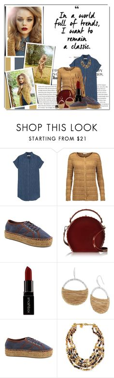"""""""In a world full of trend, i want to remain a classic."""" by queenrachietemplateaddict ❤ liked on Polyvore featuring Rettore, Madewell, Nina Ricci, Kensie, Bertoni, Smashbox, Robert Lee Morris and Ashley Pittman"""