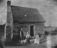 One-Room House in Burnt Swamp.  ca. 1890