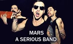 goofy 30 Seconds To Mars!! <3
