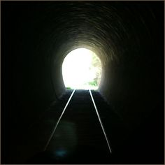 Light @ the end of the tunnel...NOT an oncoming train.
