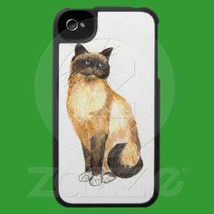 Birman Cat iPhone 4/4S Speck Case