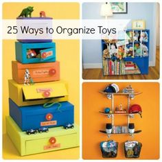Perfect for the Playroom: 25 Ways to Organize Toys via Spoonful