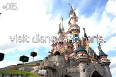 disney bucket list