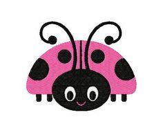 Spunky Ladybug Machine Embroidery Design by JoyfulStitchesEtsy, $3.50