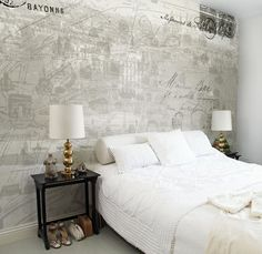 7 fantastiche immagini su Carta da parati per camera da letto ...