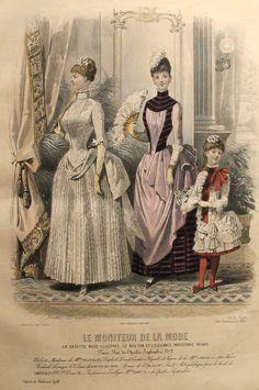 1886 Moniteur de la Mode