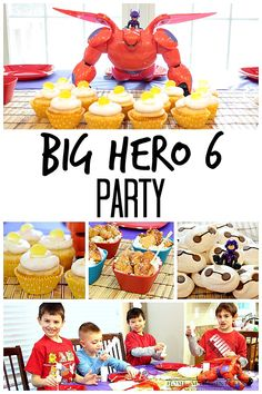 Great movie for kids birthday party theme, play date or snow day. Big Hero 6 will be this year's popular kid's party theme for sure! #BigHero6Release #ad