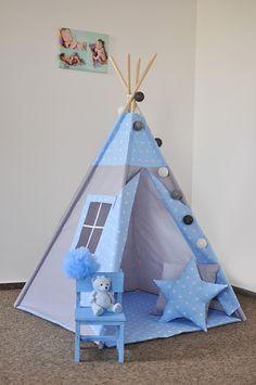 Diy Teepee, Kids Teepee Tent, Teepees, Home Decor Hooks, Diy Kids Furniture, Kids Corner, Diy Arts And Crafts, Baby Room Decor, Diy For Kids