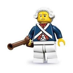 Lego Minifigure Séries 10 Lacrado - Revolutionary Soldier! - R$ 14,00 no MercadoLivre