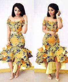 Lovely Ankara Gown Design for Ladies .... Lovely Ankara Gown Design for Ladies