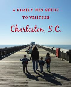 Family Fun Guide to Charleston, S.C.; Ideas for free and cheap excursions as well as fun places to take the kids.
