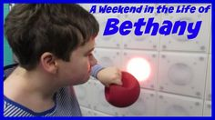 A Weekend in the life of Bethany  Find out why Sunday is Beth's favorite day! #specialneeds, #specialneedsfitness, #specialneedsparenting #fitness, #autism, #YMCA