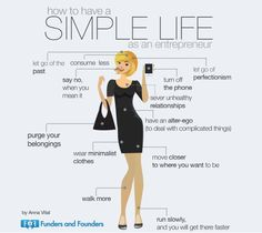 How to Have a Simple Life as an Entrepreneur | Funders and Founders Notes
