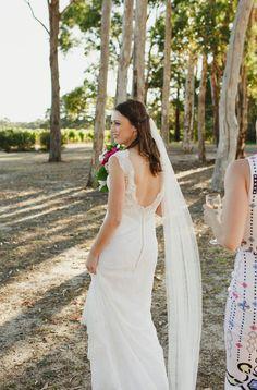 Donna Tobin Couture Island Goddess Second-Hand Wedding Dress | Still White Australia