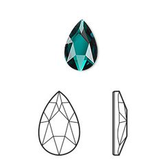 Add the famous Swarovski® crystal sparkle to designs with this variation of the classic pear shape. Incorporate into an array of designs including wirework, polymer clay, metal clay, Apoxie® Sculpt, ICE Resin® or Vitrium® clay. Stamp Drawing, Gem Drawing, Green Gemstones, Crystals And Gemstones, Swarovski Crystals, Coroa Tattoo, Ring Sketch, Mirror Mosaic, Mosaic Art